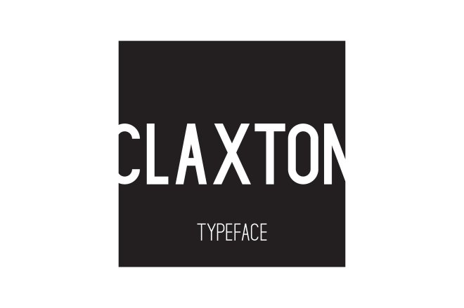 claxton typeface font by MikeHill on Creative Market