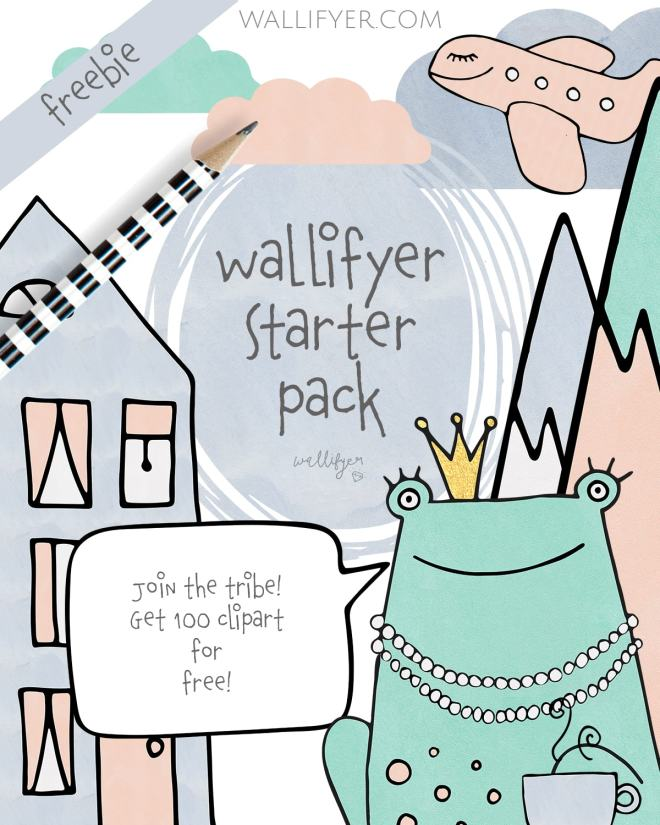 Freebie starter pack Wallifyer clipart