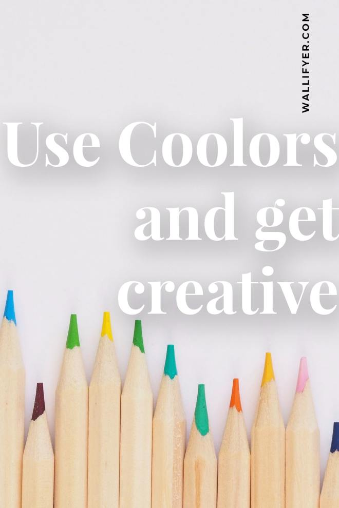 Use Coolors color generator and get creative with Wallifyer Clipart blog-min